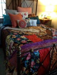 Gypsy Boho Bedspread, Bedding, Blanket- Bohemian ...