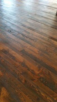Circle Sawn Doug Fir Flooring by Sustainable Lumber Co