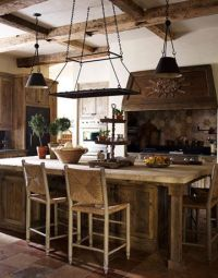 Pot racks, Italian and Rustic italian on Pinterest