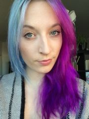 washed split hair with arctic