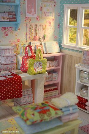 Miniature Cath Kidston shop!: