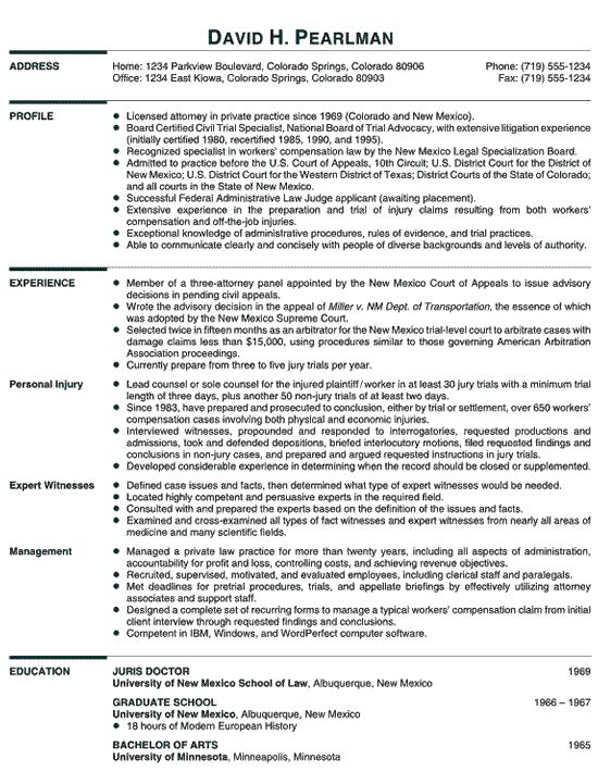 Healthcare Attorney Resume Example Resume Examples