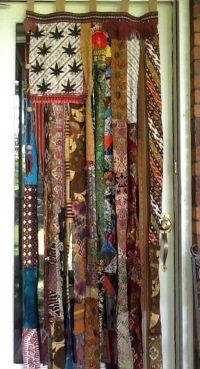American Flag boho hippie bead door curtain gypsy wall art ...