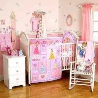 Babies: princess crib bedding