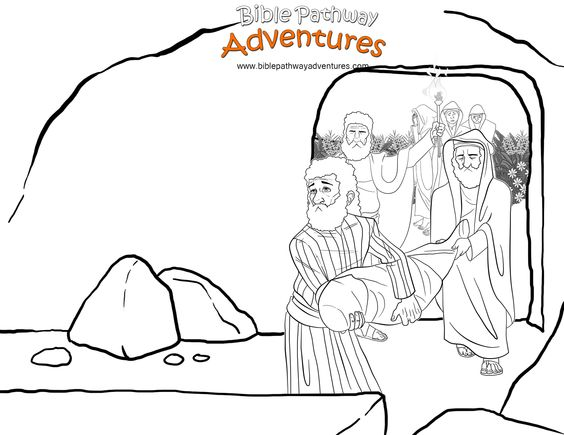 Nicodemus and his friend Joseph place Yeshua (Jesus) into