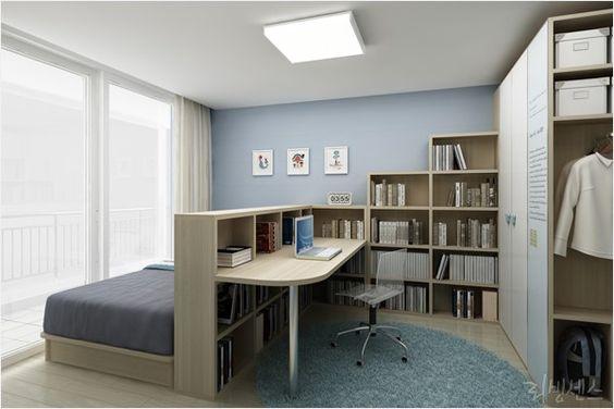 Bedroom & home office combo