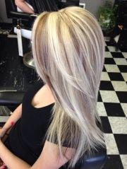 beautiful long hair blonde highlights