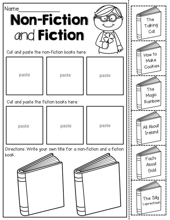Fiction, Cut and paste and St patrick's day on Pinterest