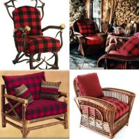 What's Red and Black and Checked All Over? | Plaid, Chairs ...