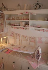 Ironing station, Craft rooms and Crafts on Pinterest