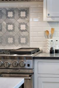 Range accent tile backsplash. The accent tile above the ...