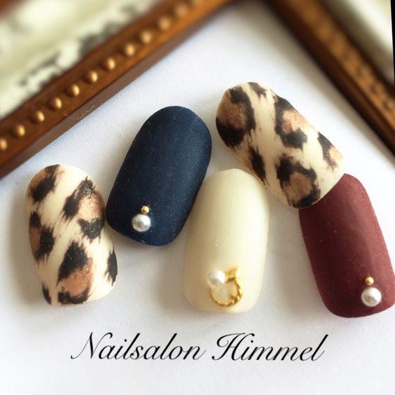 ♥ 豹紋凝膠指甲!妝點你的深色秋冬 9
