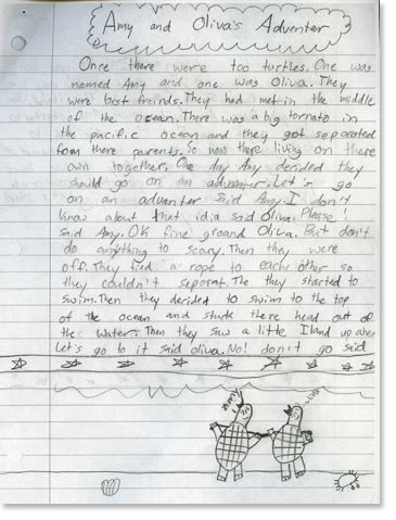 3rd grade writing, Third grade writing and Comment on