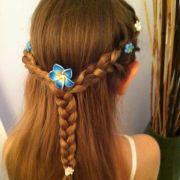 fairy hairstyles kids - google