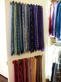 organize my ties...please! | Clothing for the old man ...