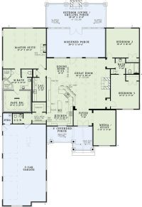 House Plan 82333 | House, Islands and Trips