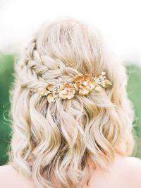 Cute Bridal Braid style for short hair | Hair & Makeup ...