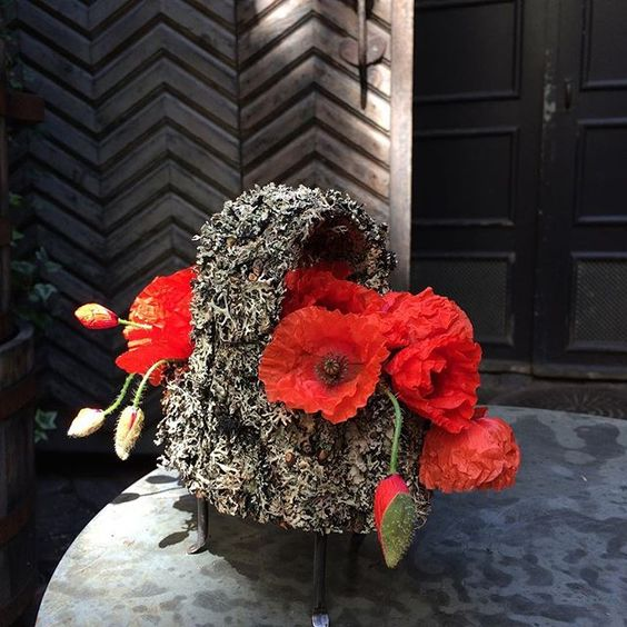 Poppies are in season. A Monday wake up! #tageandersen #gunillaberg #poppy #flashing #bright #mondayblues #turnitred: