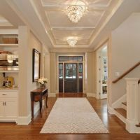 low cost ceiling treatment, big benefit. Can see above DR ...