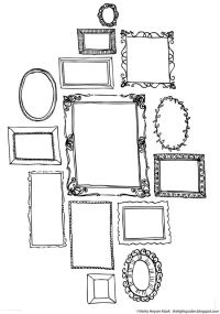 Free printables. Think & Draw Creative Pages by ...