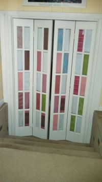 French Door....privacy. scrapbook paper. | Projects ...