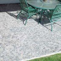 Stone Grey Mosaic Tile | Mosaics, Outdoor patios and Natural