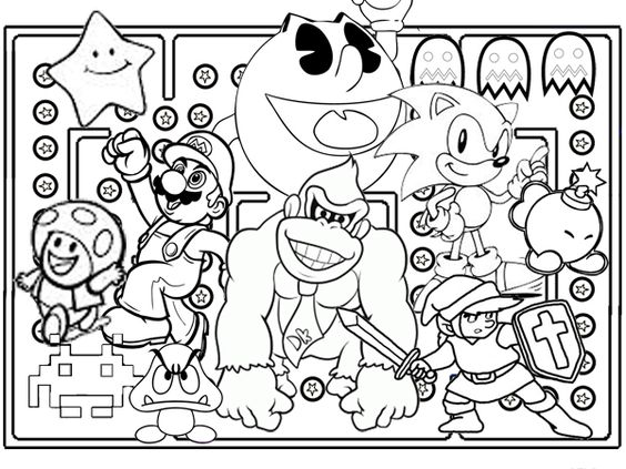 Arcade Game Schaltplang