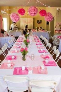 Guest tables. Decorated with white linen table clothes ...
