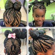 braids african princess - little