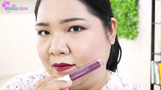 Red Velvet - It's a red with deep plum undertone