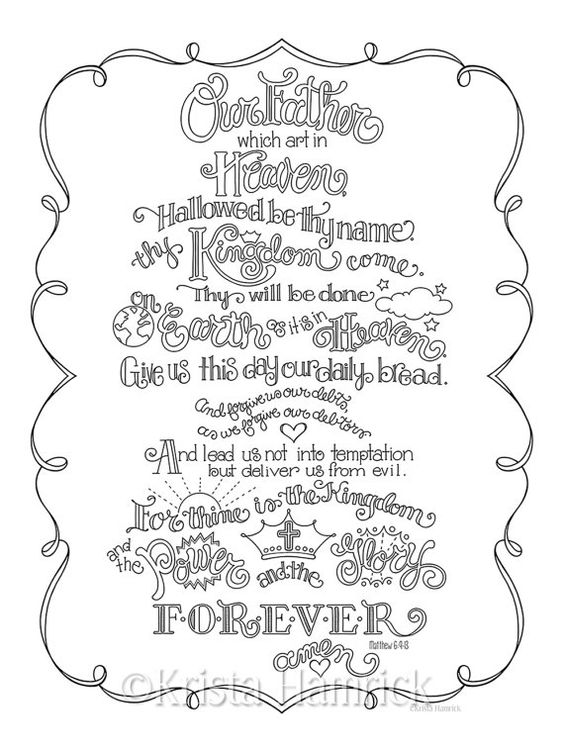 The o'jays, Coloring pages and Lord's prayer on Pinterest