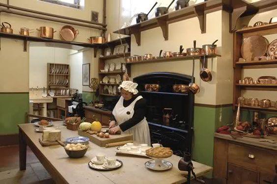 Victorian Era Kitchen