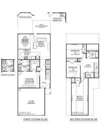 PLAN 1481 CLARENDON floor plan. Two-story plan designed ...