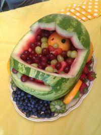 Fruit platter for baby shower | Baby Shower Ideas ...