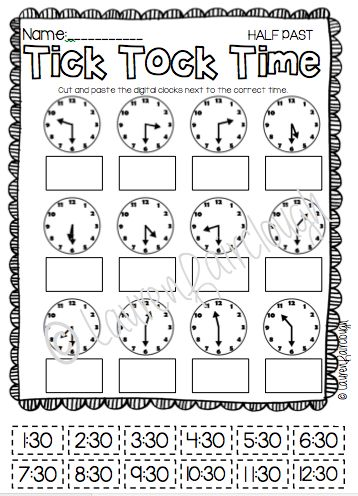 Math, Telling time and Summer on Pinterest