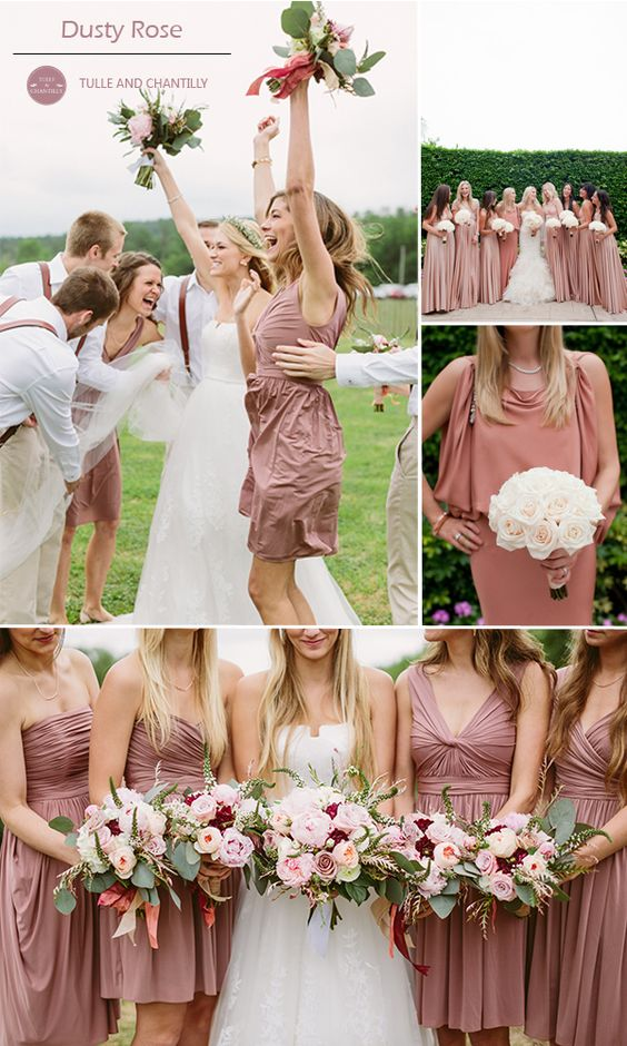 Top 10 Colors for Fall Bridesmaid Dresses 2015  Wedding
