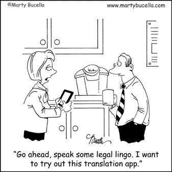 Hah, we know most lawyer-spouses feel this way at one time