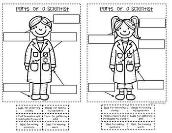 {Being a Scientist} Interactive Journal for Kindergarten