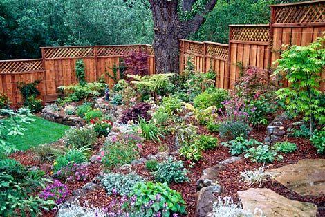 simple tips hillside landscaping