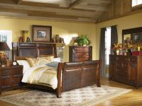Vintage Rustic Bedroom Ideas with Natural Shade: Rustic ...