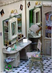 beauty salon miniature