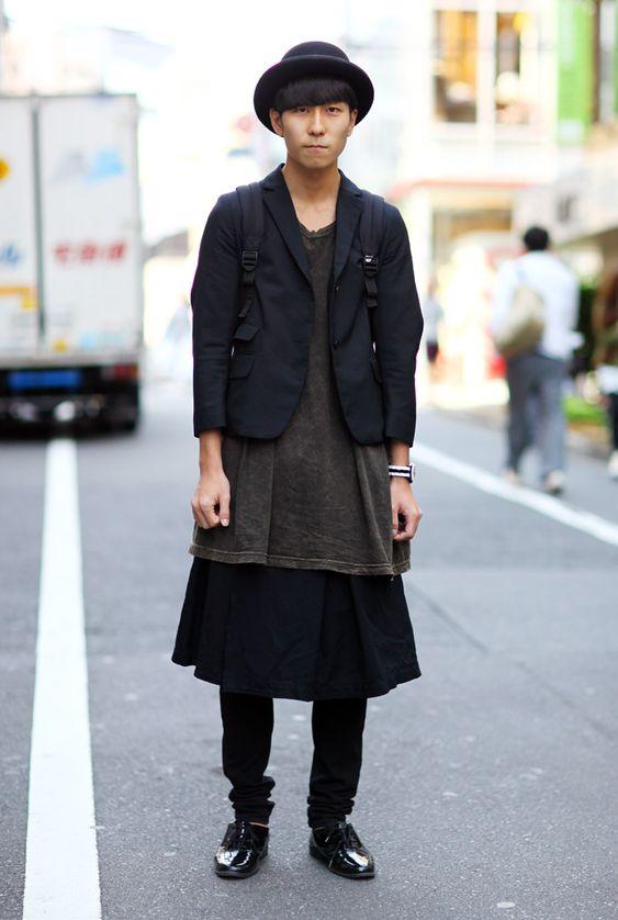 All Black Tokyo Street Fashion Street Peeper Global