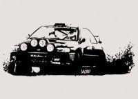 Rally Subaru wall sticker | Cars | Pinterest | Boys ...