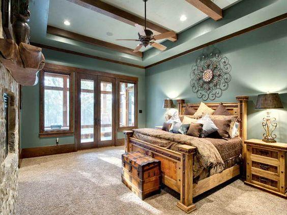 20 Incredible Rustic Bedroom