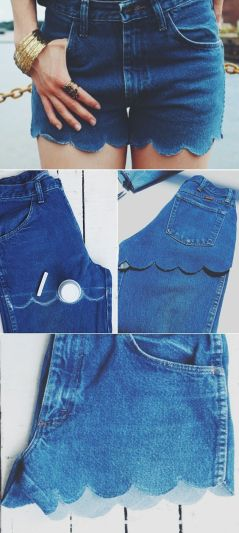 No Sew 3 Denim Shorts: