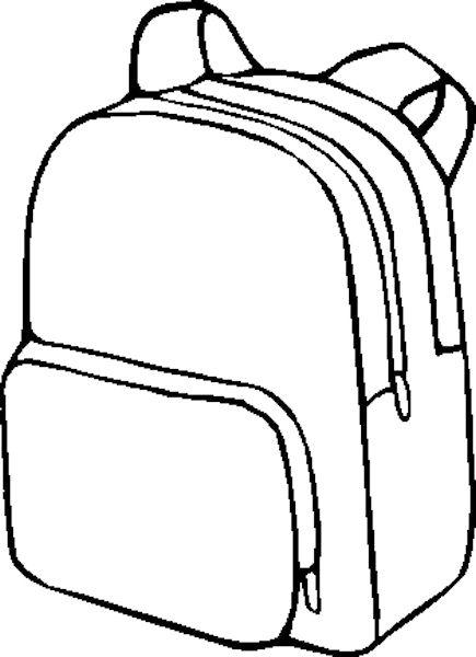 σχέδιο σχολικής τσάντας για διάφορες εφαρμογές