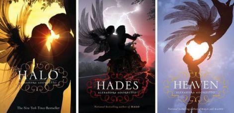 Afbeeldingsresultaat voor halo trilogy book covers