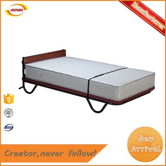 Factory Direct Supply Deluxe Spring Folding Rollaway Bed Kunda A 038