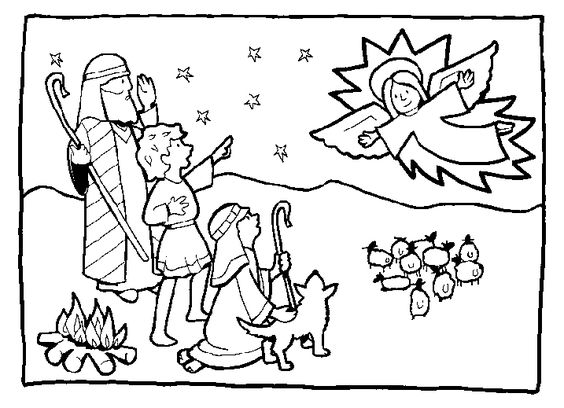 Christmas angels, Coloring pages and Coloring on Pinterest
