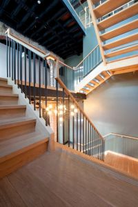 Commercial stairs, Duke and Open stairs on Pinterest